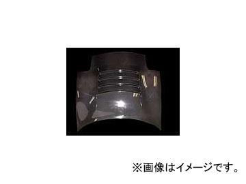 乱人 カーボンボンネット ダクト付タイプ カーボン マツダ RX-7 タイプ-II FD3S