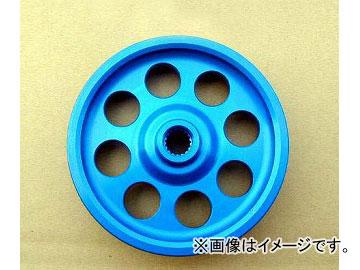 RE雨宮 アルミパワーステアリングプーリー ブルー アルマイト 1型~6型適用 E0-022033-069 マツダ RX-7 FD3S