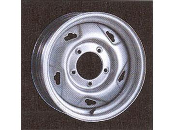 スチールホイール 4WD用ホイールII 1555S53 15インチ×51/2J 1本