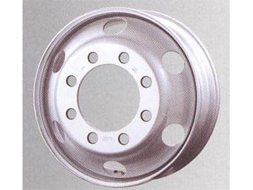 スチールホイール チューブレスホイール W-DA3N AP258 19.5インチ×7.50 1本