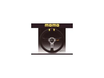 モモ/momo ステアリング ドリフト/DRIFT 330mm DISH90mm ブラックスエード&アンスラサイトスポーク