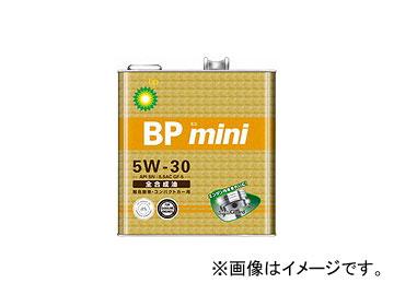 BP/ビーピー エンジンオイル BPミニ SN/GF-5 5W-30 全合成油 入数:3L×6缶 JAN:4968708165130