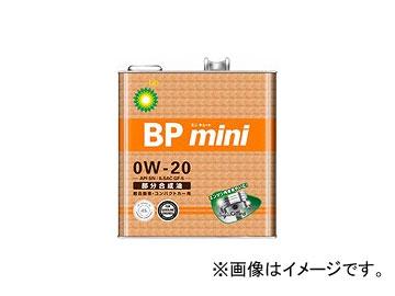 BP/ビーピー エンジンオイル BPミニ ミニキュート SN/GF-5 0W-20 全合成油 入数:3L×6缶 JAN:4968708160135