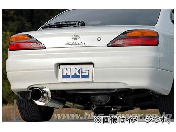 HKS マフラー silent Hi-Power 31019-AN017 ニッサン シルビア S15 SR20DET 1999年01月~2002年08月
