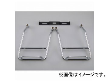 2輪 ワイズギア サドルバッグサポートバーII Q5K-YSK-016-E41 ヤマハ DS4 XVS400 ドラッグスター