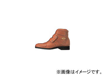 2輪 ワイズギア ヤマハ TT-401 ショートブーツ カラー:ブラウン