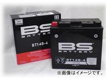 2輪 BSバッテリー/BS-BATTERY SLAバッテリー BT14B-4 ヤマハ/YAMAHA XJR1300SP RP03J 5UX7 1300cc JAN:3661451001441