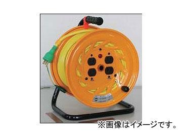 日動工業/NICHIDO カラードラム 100V 30m ポッキンプラグ付 イエロー NFC-E34-Y JAN:4937305041178