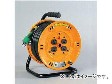 日動工業/NICHIDO 抜け止め式コンセントドラム(屋内型) 100V 20mタイプ アース付 NP-E23N JAN:4937305026168