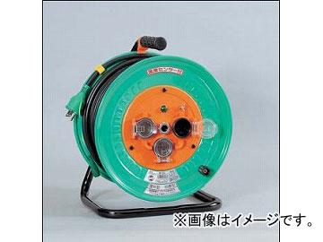 日動工業/NICHIDO 防雨・防塵型電工ドラム(屋外型) 100V 標準型30mタイプ アース付 NW-E33 JAN:4937305013434