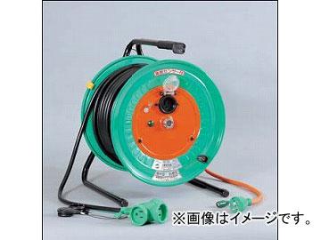 日動工業/NICHIDO 延長コード型ドラム 100V 防雨防塵型(屋外型)30mタイプ アース付 RBW-E30S JAN:4937305002322