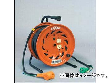 日動工業/NICHIDO 延長コード型ドラム 100V 寒冷地(屋内型)30mタイプ アース付 KRND-E30S JAN:4937305011447