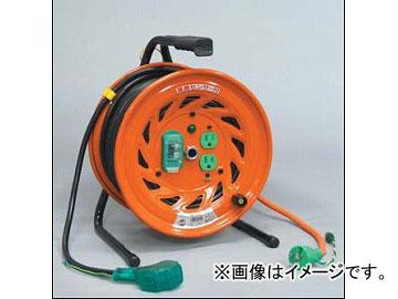 日動工業/NICHIDO 延長コード型ドラム 100V 標準型30mタイプ アース付 EBタイプ RND-EB30S