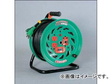 日動工業/NICHIDO 超高感度ブレーカー付ドラム 100V 電コンリール(屋内型)30mタイプ アース付 EKタイプ FCH-EK32 JAN:4937305033302