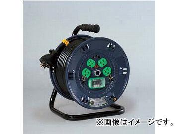 日動工業/NICHIDO コンビリールシリーズドラム(屋内型) 100V Dタイプ20m アース付 EBタイプ NPL-EB24-D20