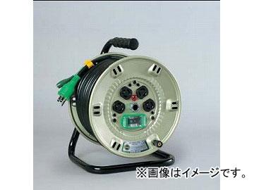 日動工業/NICHIDO コンビリールシリーズドラム(屋内型) 100V Fタイプ20m アース付 EBタイプ NPL-EB24-F15