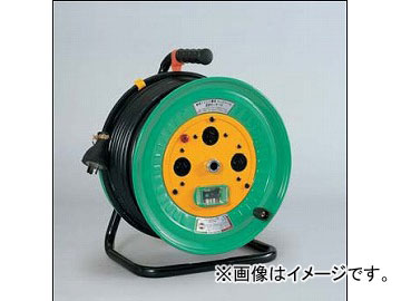 日動工業/NICHIDO コンビリールシリーズドラム(屋内型) 100V Jタイプ30m アース付 EBタイプ NDK-EB33-J15