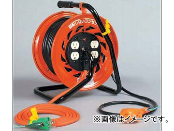 日動工業/NICHIDO マジックびっくリール(屋内型) 100V 30mタイプ アース付 RZ-E30S JAN:4937305031681