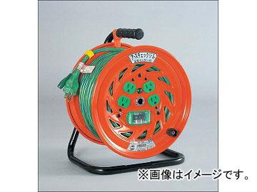 日動工業/NICHIDO アースチェックリール(屋内型) 100V 標準型30mタイプ アース付 EBタイプ GNF-EB34 JAN:4937305031858