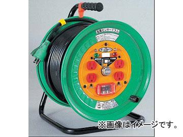 日動工業/NICHIDO 金属センサーシリーズ(屋内型) 100V 30mドラムタイプ アース付 EKタイプ KS-EK34 JAN:4937305019931