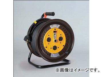 日動工業/NICHIDO 単相200Vロック式(引掛式)ドラム(屋内型) 30mタイプ アース付(φ35) ND-E230L-20A