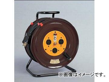 日動工業/NICHIDO 三相200Vロック式(引掛式)ドラム(屋内型) 50mタイプ アース付(φ41) NDC-E350FL-30A
