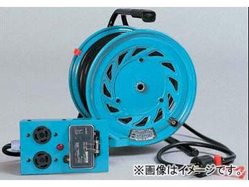 日動工業/NICHIDO 三相200V延長コード型ドラム(屋内型) ロック式30mタイプ アース付 EBタイプ RND-EB330SL