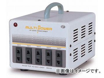 日動工業/NICHIDO 海外用トランス 100~240V【入力電圧AC-100~240V】 500VA SU-550