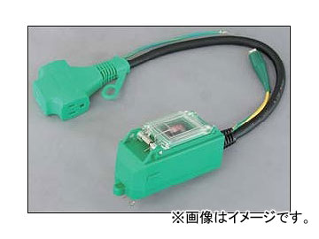 日動工業/NICHIDO プラグインポッキンブレーカ(屋内型) 過負荷・漏電兼用 PIPBH-EK-T JAN:4937305041918