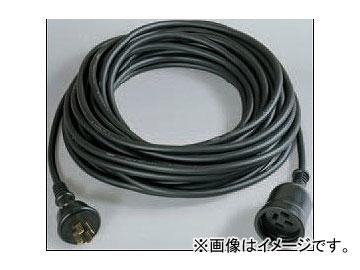 日動工業/NICHIDO 防雨延長コード三相200V(屋外型) アース付 20m 4P20AW-20 JAN:4937305034743