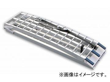 2輪 キジマ メタルフィールド ラダーレール シルバー 2100mm 折りたたみタイプ Z9-22-005