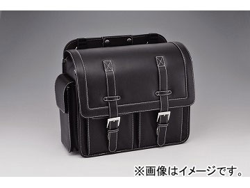 2輪 キジマ サドルバッグ ブラック L 20L FR-A00001