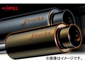 Jworks/ジェイワークス マフラー N1Street Black&Gold ミツビシ ekスポーツ H81 3G83