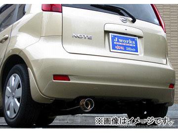 Jworks/ジェイワークス マフラー N1 Soul Muffler N1S-005 ニッサン ノート DBA-E11