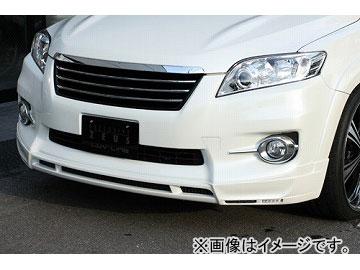 エムズスピード LUV LINE フロントハーフスポイラー 未塗装 トヨタ ヴァンガード 350S GSA3# MC後