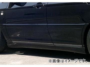 エムズスピード LUV LINE サイドステップ 未塗装 トヨタ ハリアー MCU1/SXU1/ACU1