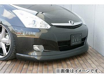 エムズスピード GRACE LINE フロントハーフスポイラー 未塗装 トヨタ ウィッシュ #NE MC後(エアロスポーツパッケージ除く)