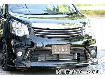 エムズスピード GRACE LINE フロントハーフスポイラー 未塗装 トヨタ ノア ZRR Si・S グレード MC後
