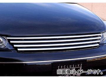 エムズスピード EXE LINE ビレットグリル 未塗装 ホンダ オデッセイ RB1・2