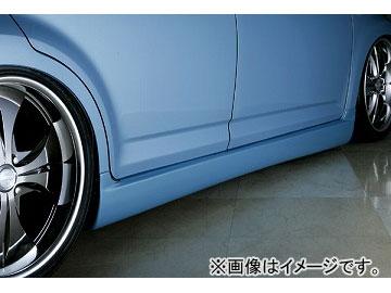 エムズスピード SMART LINE サイドステップ 未塗装 トヨタ パッソ QNC/KGC10 MC前(Racyを除く)