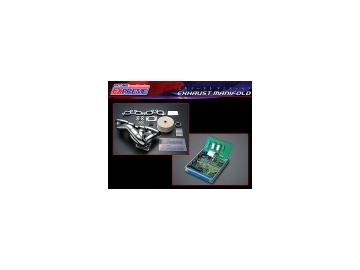 東名パワード/TOMEI POWERD エクスプリーム/EXPREME エキゾーストマニホールド+ECU 193086+8130355000 シルビア S14(M/T) SR20DET(ABS可) ~96.6