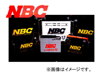 NBC バイク用バッテリー 23151011 GEL 12-BS