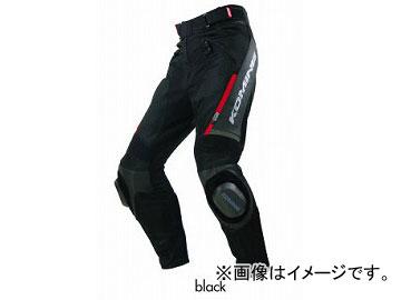 2輪 コミネ/KOMINE PK-717 スポーツライディングレザーメッシュパンツ 07-717 ブラック サイズ:S~4XL