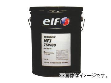 日産/ピットワーク ミッションオイル トランスエルフ NFJ(部分合成油) 車種専用油脂[ルノー車] 75W-80 KLD90-75802 入数:20L×1缶