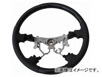 オートインフォ コンビステアリング ブラック×グレー トヨタ 15アルファード
