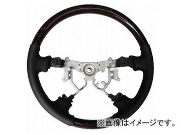 オートインフォ コンビステアリング ダークブラウン×ブラック トヨタ 200系ハイエース