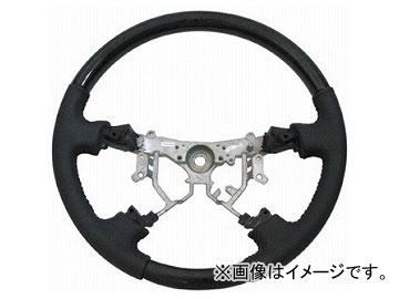 オートインフォ コンビステアリング ブラック×グレー トヨタ 200系ハイエース