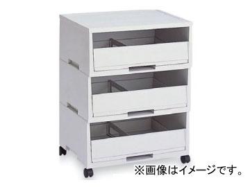 テラモト/TERAMOTO エコペーパーソートII グレーA3・3段 DS-187-303-5 JAN:4904771619859