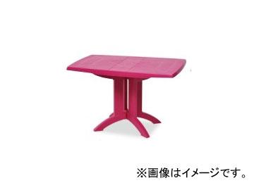 テラモト/TERAMOTO ベガFテーブル118×77 6.ピンク MZ-594-000
