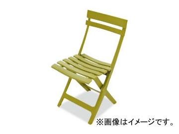 テラモト/TERAMOTO マイアミフォールディングチェア 1.グリーン MZ-594-100